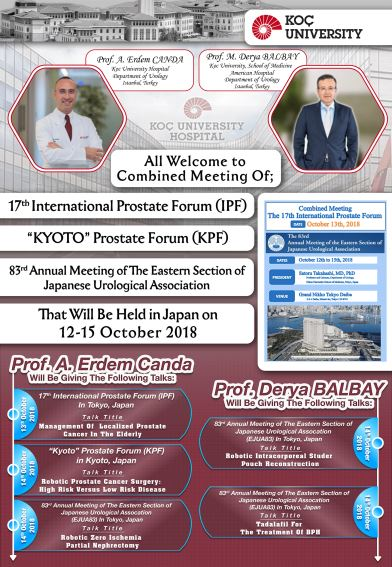 International Prostate Forum, 2018, Japan