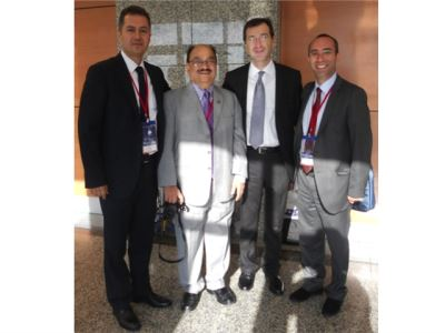 Dr.Canda with colleagues at WCE 2012